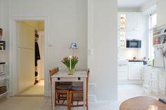 Una gran cocina en un piso de 43 m²