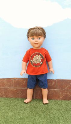 18 Inch Boy Doll Clothes Dinosaur T Shirt and by DonnaDesigned, $16.00  https://www.etsy.com/listing/186440773/18-inch-boy-doll-clothes-dinosaur-t?ref=shop_home_active_1