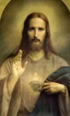 ~Our Lord Jesus Christ to St. Catholic Quotes, Catholic Prayers, Religious Quotes, Heart Of Jesus, God Jesus, Jesus E Maria, Jesus Pictures, Sacred Heart, Jesus Loves