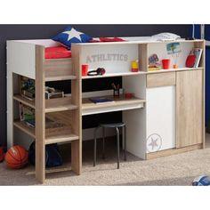Children Bunk Bed Work Station