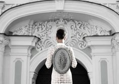 Baroque architecture inspiration transferred to sculptural leather Kofta pieces | Inspirationist