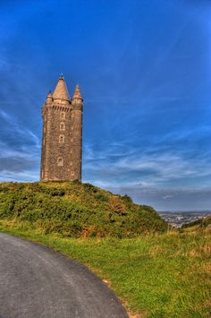 Scrabo Tower, Down, Northern Ireland  Visit www.exploreuktravel.co.uk for holidays in Co Down