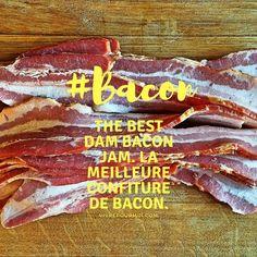 La meilleure recette de confiture de BACON. The best dam bacon jam ever. #recipes #recettes #Best #Bacon #baconjam #confitures #kitchen #cuisine Meat, Food, Bacon Jam, Recipes, Kitchens, Meals, Yemek, Eten