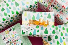 You're about to win the gift wrap game.