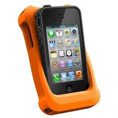 LifeProof Black Waterproof Case for iPhone 4/4S w/LifeJacket Bundle