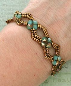Linda's Crafty Inspirations: YouTube Tutorial - Diamond DIY Beaded Bracelet,  #beaded #crafty #diamond #inspirations #linda #tutorial #youtube,  #Genel, Genel,