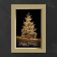 Silent Beauty Elegant Holiday Cards with Gold Border http://partyblock.carlsoncraft.com/Holiday/Seasons-Greetings-Cards/YM-YMM1160-Silent-Beauty--Holiday-Card.pro personalized Christmas cards.
