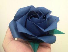 Origami rose Rosa de Phu Tran