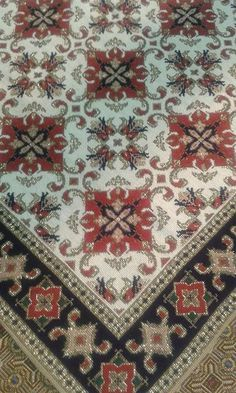 Αποτέλεσμα εικόνας για εργοχειρα Silk Ribbon Embroidery, Beaded Embroidery, Cross Stitch Embroidery, Embroidery Patterns, Cross Stitch Patterns, Bargello, Stitch Design, Cross Stitching, Needlepoint