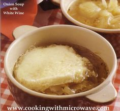 Onion Soup with White Wine