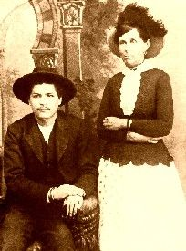 Belle Starr had a short-lived affair with a Cherokee  Indian  outlaw named Blue Duck.