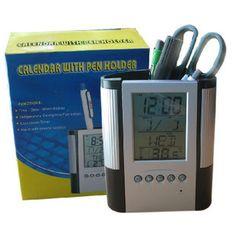 T20161032多功能电子万年历笔筒   市场价 RM32.90  优惠价 RM24.50  节省   RM8.40   商品详情   产品尺寸12.5105.5cm产品材质ABS颜色黑色商品重量150.000 克(g)计量单位个  1.正常时间模式  正常时间模式显示时间日期(2000年至2099年)星期温度并可实现12/24小时制的转换  2.音乐闹钟和贪睡模式  闹钟模式可设置日常闹铃时间同时可选择不同乐曲伴奏响闹还可设置贪睡的间隔延续时间.  3.计时器模式  计时器模式可设置反向时计;计时范围23:5900:00.  4.温度模式  可实现摄氏/华氏温度的相互转换正常测量范围0-50(32-122)精度可达0.5.        商品咨询/Inquiry        ()Leave your message here and we'll reply you ASAP/我们会尽快的回复您的留言()  Item/商品Name/姓名Email/电邮Message/留言  o.()欲知更多详情请联系我们o.()  Email…