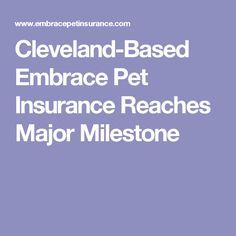 Embrace Pet Insurance celebrated a monumental achievement last Friday when it insured its pet. Embrace Pet Insurance, Cleveland, Pets