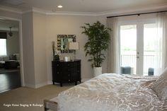 Bedroom - #home staging  www.forgiehomestaging.com