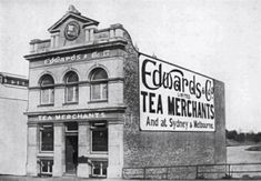Edwards & Co. Tea Merchants at 455 Adelaide St,Brisbane, Queensland.Founded by Robert Campbell Edwards in 1881 in Victoria just 3 years after migrating to Australia with his mother and younger brother. Robert Campbell, Brisbane Queensland, Ancestry, 3 Years, Brother, Victoria, Australia, Tea, History