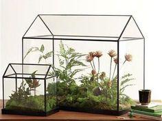 Флорариум в технике Тиффани: хрустальный домик для цветов   Ярмарка Мастеров - ручная работа, handmade