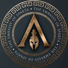 Discover recipes, home ideas, style inspiration and other ideas to try. Tatouage Assassins Creed, Assassins Creed Tattoo, Arte Assassins Creed, Assassins Creed Odyssey, Spartan Logo, Spartan Tattoo, Spartan Warrior, Spartan Shield, Spartan Helmet