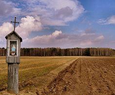 Kapliczki Podlasia - podlaskie klimaty - Strona 2 - Galeria Landscape Pictures, Central Europe, Krakow, Religious Art, Pilgrimage, Catholic, National Parks, Around The Worlds, Country Roads