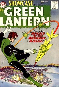 Green Lantern - 1st silver age GL  Hal Jordan