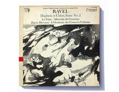 "Charles Murphy record album design 1961. ""Ravel: Daphnis et Chloé Suite No. 2"" LP"