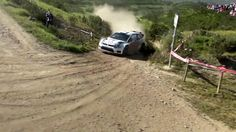 Motor Rally action photo taken by Quadcopter