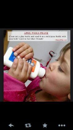 25 Great April Fool's Day Ideas: # Pranks for sleepovers Kids April Fools Pranks, Funny Pranks For Kids, April Fools Day Jokes, Best April Fools, Good Pranks, Pranks Ideas, Kids Pranks, School Pranks, Camp Pranks