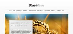 See this Top 100 Simple WordPress Themes !