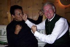 Muhammed Ali und Balthasar Hauser (via @stanglwirt) - www.stanglwirt.com