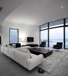 Great Idea Luxury House Designs for your Dog wall decor Modern Home - Design DCA This is a pretty cool living room, or it could possibly eve. Modern House Design, Modern Interior Design, Luxury Interior, Luxury Furniture, Wood Furniture, Living Room Designs, Living Room Decor, Living Rooms, Apartment Living