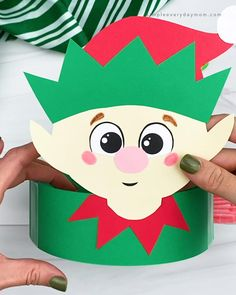 Preschool Christmas Crafts, Christmas Crafts For Kids To Make, Christmas Activities For Kids, Mothers Day Crafts For Kids, Craft Activities For Kids, Diy Crafts For Kids, Kids Christmas, Holiday Crafts, Craft Instructions For Kids