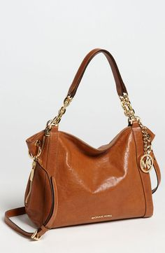 Michael Kors Stanthorpe Large Satchel 2012, comes in Luggage (Cognac), Mocha (dk brown), Snake Black Patent, Python and Black, beautiful beige lining, 10x16x5, w/shoulder strap, no exterior pocket