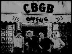 New York's famous CBGBs. Gone but not forgotten.