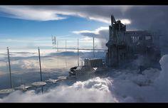 Ark Tower Take 2 by fmacmanus.deviantart.com on @DeviantArt