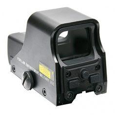 Telescopic Laser Gun Sight, Red Green Dot Reflex Sight Telescope - Black