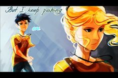 Percabeth and Nothing Left To Say/Rocks- Imagine Dragons
