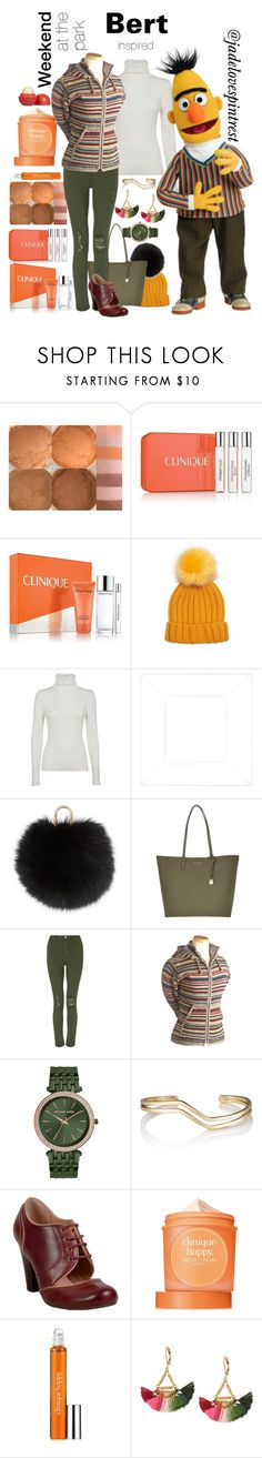 """Bert Style"" by jadelovespintrest ❤ liked on Polyvore featuring Clinique, Forever 21, 3.1 Phillip Lim, Yves Salomon, Michael Kors, Miss Selfridge, Laundromat, Miz Mooz, Eos and Shashi"