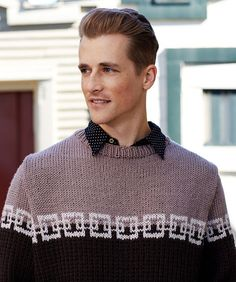 Yarnspirations is the spot to find countless free intermediate knit patterns, including the Red Heart Structure Chic Sweater. Browse our large free collection of patterns & get crafting today! Knitting Patterns Free, Knit Patterns, Free Pattern, Circular Knitting Needles, Clothes Crafts, Stockinette, Red Sweaters, Knit Crochet, Chic