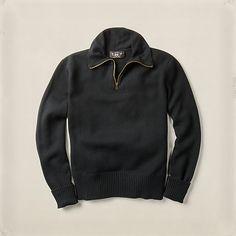 モト コットン ハーフジップ セーター ・ メンズ Sale ・ アパレル ・ メンズファッション通販   RRL - Ralph Lauren Japan (ラルフローレン)