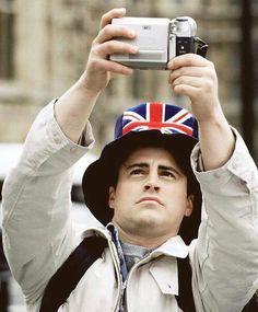 """Friends. Joey. """"London, baby!!"""""""