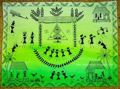 Warli Art - Pooja