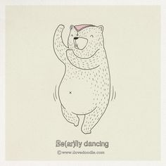 Be(ar)lly dancing by Heng Swee Lim