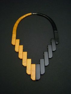 Art Deco Auguste Bonaz  Bakelite Necklace