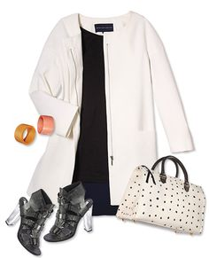 The 5 Key Pieces You Need for Spring - White Jacket from #InStyle