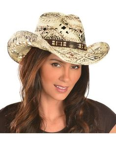 4853b7fd3771c Bullhide Girl Next Door Straw Cowgirl Hat