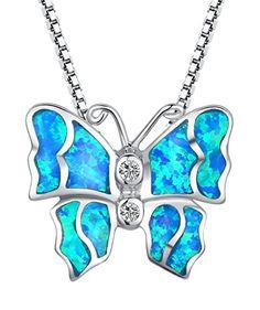 Arco Iris Schmuck Sterling Silber Schmetterling mit Blau und Grün Feuer Opal und Zirkonia Anhänger Halskette mit Italienisch Kette Box 45cm - SC078n4 Arco Iris Schmuck http://www.amazon.de/dp/B00LXG1BLC/ref=cm_sw_r_pi_dp_JtlDvb05241XK
