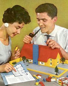 Lego vintage photo
