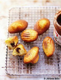 Madeleines au nutella pour 1 personnes - Recettes Elle à Table - Elle à Table