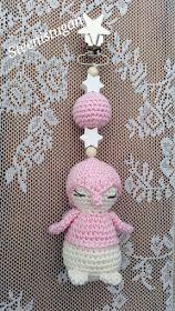 Steen i stugan: Virkat barnvagnshänge med pingvin Crochet, Baby, Tips, Chrochet, Advice, Crocheting, Newborns, Babys, Infant