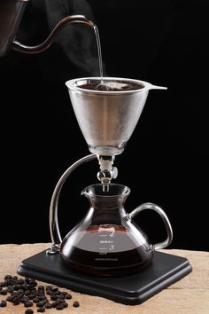 Silverton Pour Over Hot or Cold Brew Coffee Maker