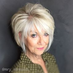 VISIT FOR MORE Classy in so many ways. So sad she is moving away. I will miss this gorgeous lady! The post Classy in so many ways. So sad she is moving away. I will miss this gorgeous lad appeared first on kurzhaarfrisuren. Layered Bob Hairstyles, Mom Hairstyles, Older Women Hairstyles, Hairstyle Ideas, Trending Hairstyles, Short Haircuts, Hairdos, Modern Haircuts, Modern Hairstyles